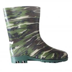 Vyriški trumpi guminiai batai Kamufliažas